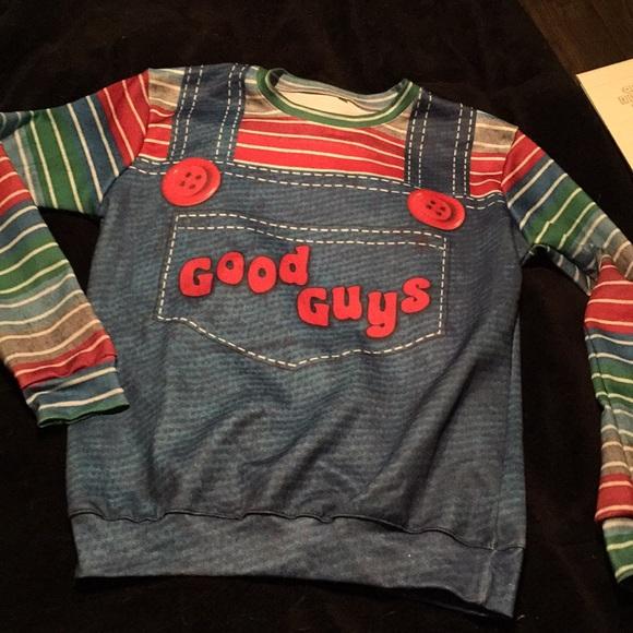 c3842aff Hot Topic Shirts   Childs Play Chucky Good Guys Costume Shirt Nwot ...